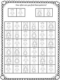 Another find the pattern activity. Enjoy!