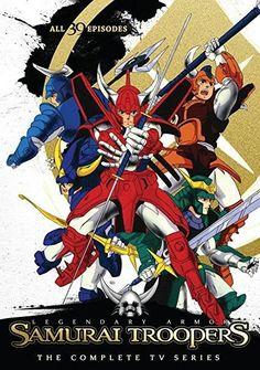 Daiki Nakamura & Masashi Ikeda & Mamoru Hamatsu-Samurai Troopers Complete TV Series