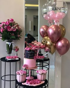 Birthday Party For Men Theme Balloons New Ideas 16th Birthday, Birthday Bash, Birthday Parties, Funny Birthday, Balloon Decorations, Birthday Party Decorations, Wedding Decorations, Deco Buffet, Pink Parties