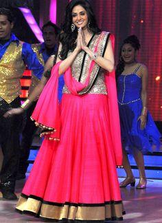 Sridevi Pink Bollywood Lehenga Choli