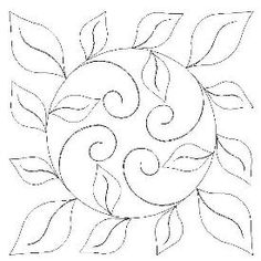 Use a circle template to draw in the circle and then add in the other stuff - Leaf Wreath
