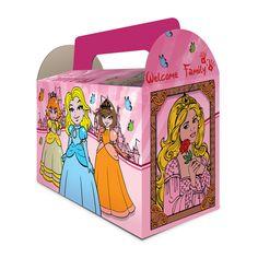 Une boîte Princesse pour les menus enfants. Pour faire plaisir aux petits filles. #lunchbox