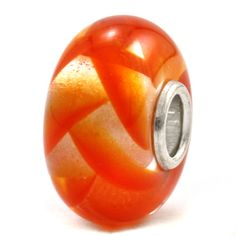 Trollbeads Unique Glass Orange