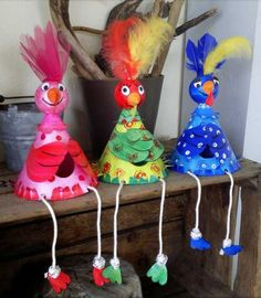 tutolibre - tutoriels - DIY gratuits - free DIY - tutorials - paso a paso - crafts- artesania - ремесел. Easter Craft Activities, Easter Crafts For Kids, Thanksgiving Crafts, Summer Crafts, Hobbies And Crafts, Diy Crafts To Sell, Holiday Crafts, Alex Craft, Chicken Crafts