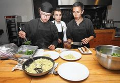 Waffleholic- Orange County--Costa Mesa-  Offers the dinnertime space to young chefs for pop-up dinners.