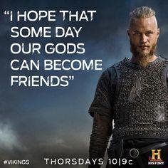 Ragnar talking to Athelstan