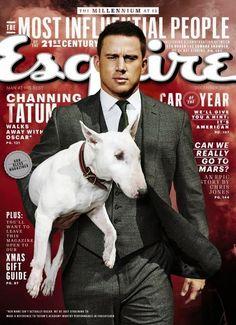 Channing Tatum para Esquire USA