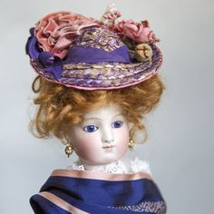 Lovely French Fashion Hat from abigailsattic on Ruby Lane