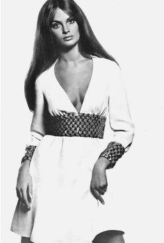 Jean Shrimpton photographed by Bailey for Vogue Paris, December 1968.