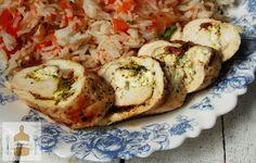pikantne roladki z kurczaka Cauliflower, Grains, Rice, Meat, Chicken, Vegetables, Food, Cauliflowers, Essen