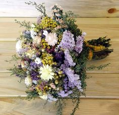 Sweet Annie example   Country Dried Flower Bouquet with Sweet Annie by theflowerpatch
