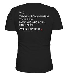 Dad Thanks For Your ADN  Funny Table Tennis T-shirt, Best Table Tennis T-shirt