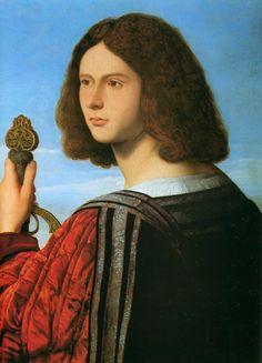 1508  / Veneto Bartolomeo /  portrait de Francesco maria  de lla Rovere ,  duc d'urbino