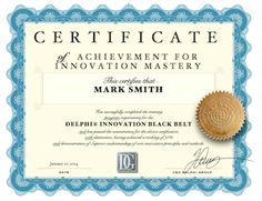 Innovation Master Class | Delphi Group