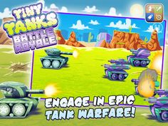 A Tiny Tank Battle - Free War Defense Action Game by Robert Walden IV