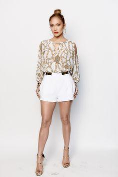 Jennifer Lopez In Collection For Kohl S Kohls Embellished Shorts J Lo Fashion