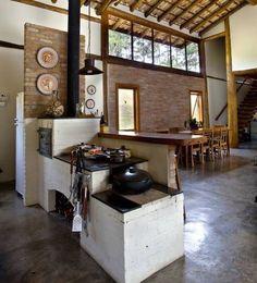 21 mejores imágenes de Diseño Cocinas mexicanas | Wood furnace ...