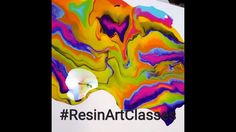 Resin pouring Ecopoxy live demo by HalfBakedArt(1)