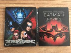 Batman & Robin  Steelbook.