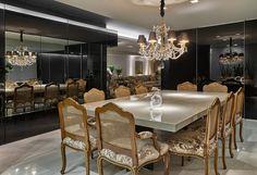 Sala de jantar e cozinha integradas! - Decor Salteado - Blog de Decoração e Arquitetura