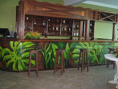 balcão do bar Brava Club
