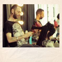 #hair @backstage FW12/13 Milan