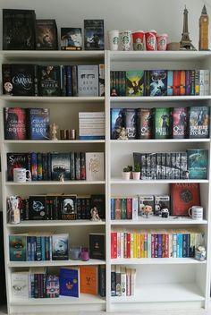 Bookshelf Tour - Spines & Covers