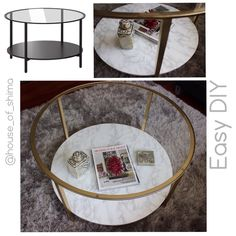 #transformationtuesday: Here is a #sneakpeek of the coffee table I made for my…