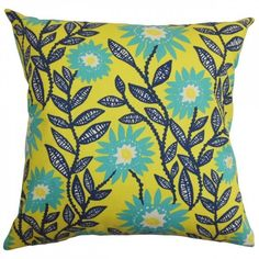 Leena Floral Pillow (655 ZAR) ❤ liked on Polyvore featuring home, home decor, throw pillows, green toss pillows, flowered throw pillows, green throw pillows, pink toss pillows and floral throw pillows