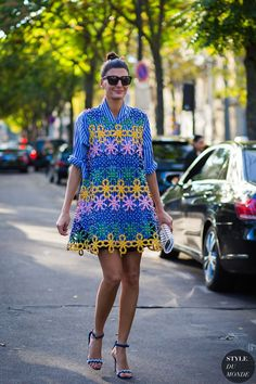 Paris SS 2017 Street Style: Giovanna Engelbert Battaglia