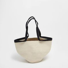 Image of the product Basket with handles and zigzag design