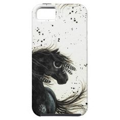 Majestic Mustang by BiHrLe iPhone Case iPhone 5 Case