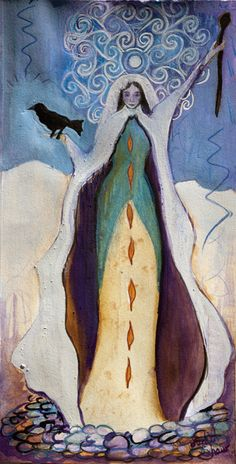 Cailleach, The Queen of Winter by Judith Shaw