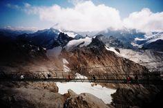 Fotografia analógica de Mount Titlis na Suíça por Jorge Sato. | Analog photography of Mount Titlis in Switzerland by Jorge Sato.