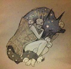 Artes : Chiara Bautista , I love this but I would have a Cat mask and cats instead of bunnys if I ever got a tattoo of it