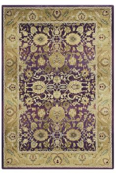 Oriental Weavers Poise Area Rug 8 Square Purple by Home Decorators Collection