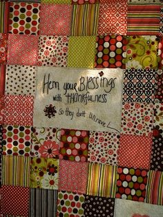 Love the mix of quilting and embroidery... and the crazy patterns/colors.