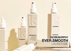 The newest Kevin Murphy product: EVER. It's a frizz eliminating, heat-activated style extender. Swipe to see the benefits and who it's for. Come on in and check it out! Makeup Set, Hair Makeup, Kevin Murphy, Clean Beauty, Salons, Spa, Product Design, Smooth, Check