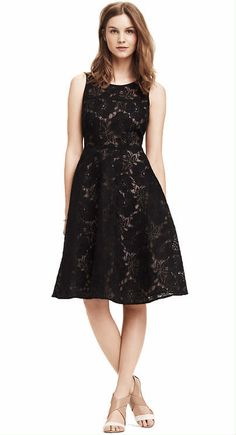 Must-Have Looks   Midnight Floral Dress   Get this look to be party-perfect