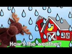 Engels liedje over het weer voor kleuters / How's the Weather Song