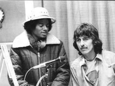 George Harrison & Michael Jackson