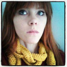 Blythe Hopes Vintage: Braided Crochet Scarf Pattern