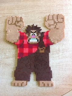 Wreck it Ralph perler bead by Amanda Collison