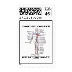 Cardiologists Do It With Rhythm EcgEkg Heartbeat Postage