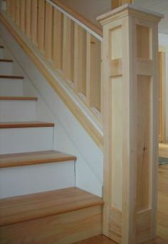 Best How To Connect Handrail At An Angle To A Newel Post Using 400 x 300