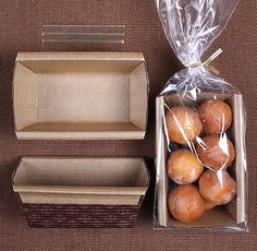 Small Bread Loaf Kit: Brown Loaf Pans, Bags and Twist Ties, Christmas Bread Loaf Pans, Christmas Loaf Pan, Disposable Paper Loaf Pans ct) - Food Recipe Bake Sale Packaging, Baking Packaging, Bread Packaging, Dessert Packaging, Greek Yogurt Dessert, Banana Dessert, Pumpkin Dessert, Dessert Bread, Breakfast Dessert