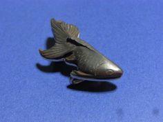 帯留め;金魚