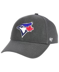 47 Brand Toronto Blue Jays Charcoal Mvp Cap - Gray Adjustable Toronto Blue  Jays b6f3b09c8d74