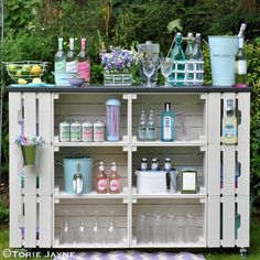 DIY outdoor bar tutorial @ Torie Jayne