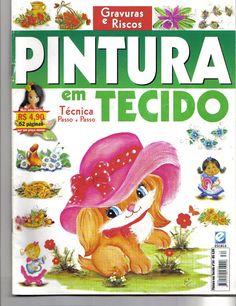 Pintura em teccido n34 - M Andrade - Picasa Web Albums... FREE MAGAZINE!